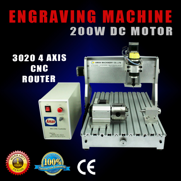 USB Port mini 3020 cnc milling machine 4 axis wood cutting high steady cost effective wood cutting mini cnc machine milling
