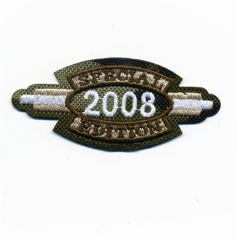 The Pilot Of Jacket The Army Peace 2008 Patches Embroidered Iron On Patch Sticker Badge For Clothes Bag Pants 3 5CM 7 5CM in Patches from Home Garden