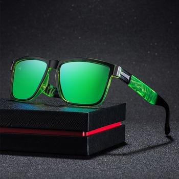Mirrored Square Sport Sunglasses - 100% UV Protection 2