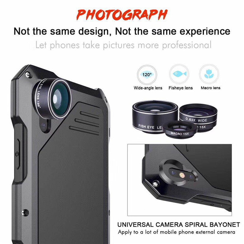 Classic luxury metal case for SamsungS9armor outdoor shockproof aluminum life case for SamsungS9PLus cover heavy duty full proof