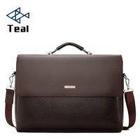 2020 Fashion Business Men Briefcase Leather Laptop Handbag Tote Casual Man Bag For male Shoulder Bag Male Office Messenger Bag
