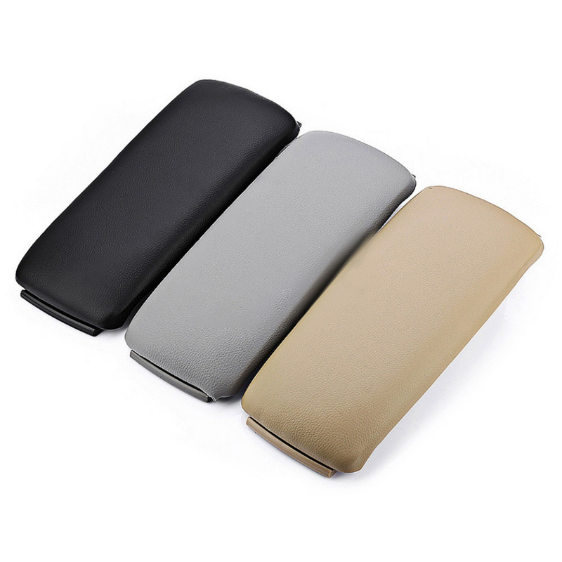 1Pcs Armrest Cover Leather Auto Car Center Console Armrest Lid Cover Cap for Audi A4 S4 A6 8E0864245P38M Interior Replacement (5)