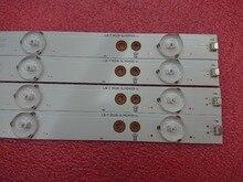 4 sztuk listwa oświetleniowa LED dla Sony KDL 40R350D KDL 40R350B 40PFT5300 40PFT5655 40PFK4509 40PFH5300 40D3505T 40pft4309 40PUT6400