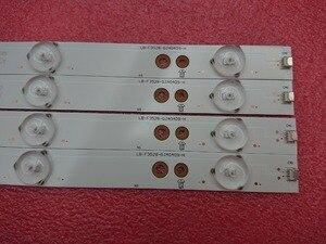 Image 1 - 4pcs LED רצועת תאורה אחורית עבור Sony KDL 40R350D KDL 40R350B 40PFT5300 40PFT5655 40PFK4509 40PFH5300 40D3505T 40pft4309 40PUT6400