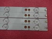 4pcs LED backlight strip for Sony KDL 40R350D KDL 40R350B 40PFT5300 40PFT5655 40PFK4509 40PFH5300 40D3505T 40pft4309 40PUT6400