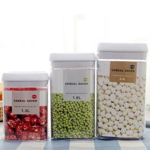 New PS Vacuum Snacks Seal Preservation Tank Food Cereal Grain Bean Rice Storage  Container Bottles U0026 Jars With Cover (2.3L) In Storage Bottles U0026 Jars From  ...