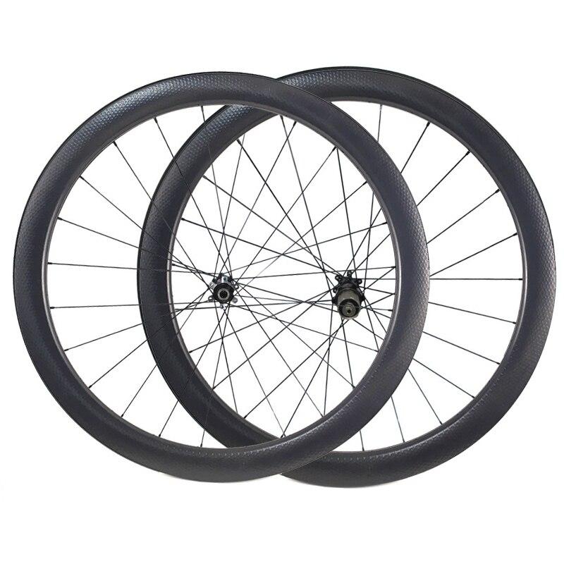 Carbon Dimple Wheels 45mm Depth Carbon Wheelset Disc Brake Wheels Clincher Tubular 700C Wheelset D411 D412 404 Carbon Wheel
