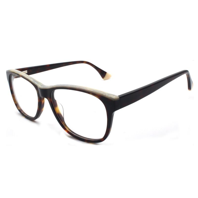 HOTOCHKI New High Quality Optical Unisex Large Elegant Eyewear Acetate Glasses Frames Men Women Fashion Big Box Eyeglasses Frame