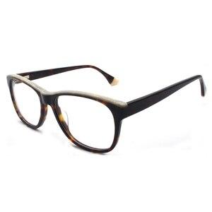 Image 1 - HOTOCHKI جديد جودة عالية البصرية للجنسين كبيرة أنيقة نظارات نظارات بمادة الخلات إطارات الرجال النساء موضة صندوق كبير النظارات الإطار