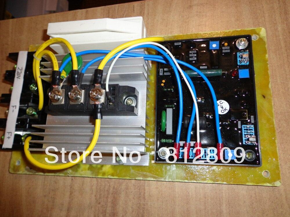 Generatore di spazzola AVR 100A 2 pz/lottoGeneratore di spazzola AVR 100A 2 pz/lotto