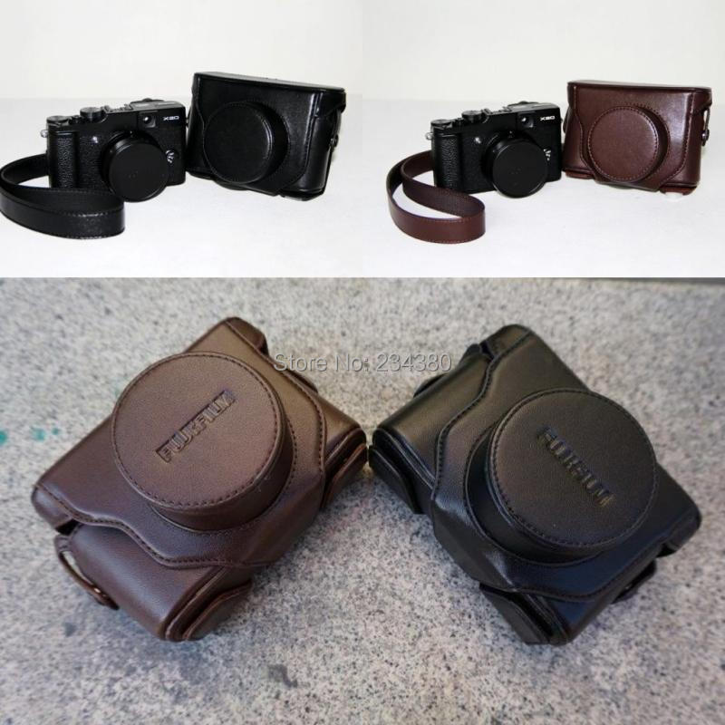 New Leather Camera Case Bag Shoulder Strap for fuji fujifilm X-100 X-100S Finepix X100 X100S Exempt postage + tracking number flyfor flyfor fl009awioe18
