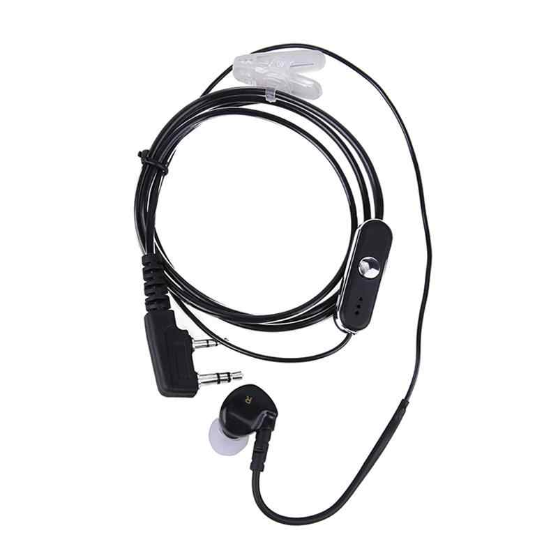 2019 Nieuwe 2 Pin In Ear Oortelefoon Sport PTT MICROFOON voor BAOFENG KENWOOD Retevis r15