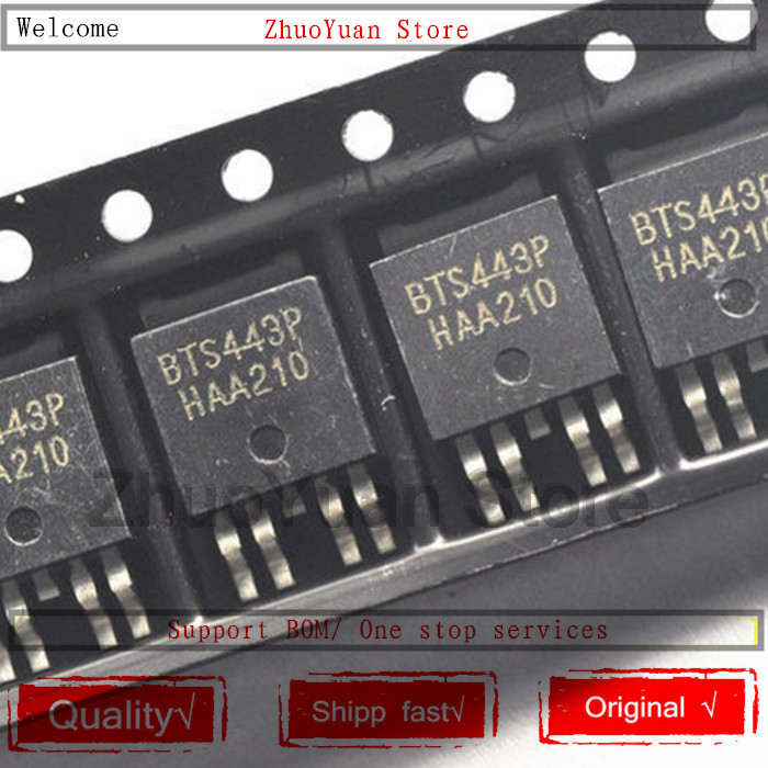 1PCS/lot BTS443 BTS443P TO-252 IC Chip New Original In Stock