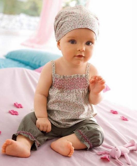 3 pcs Meninas Roupas de Crianças Recém-nascidas Floral Verão Roupa Do Bebê Top + Calças Calças Bottoms Set Roupas ropa de Bebe