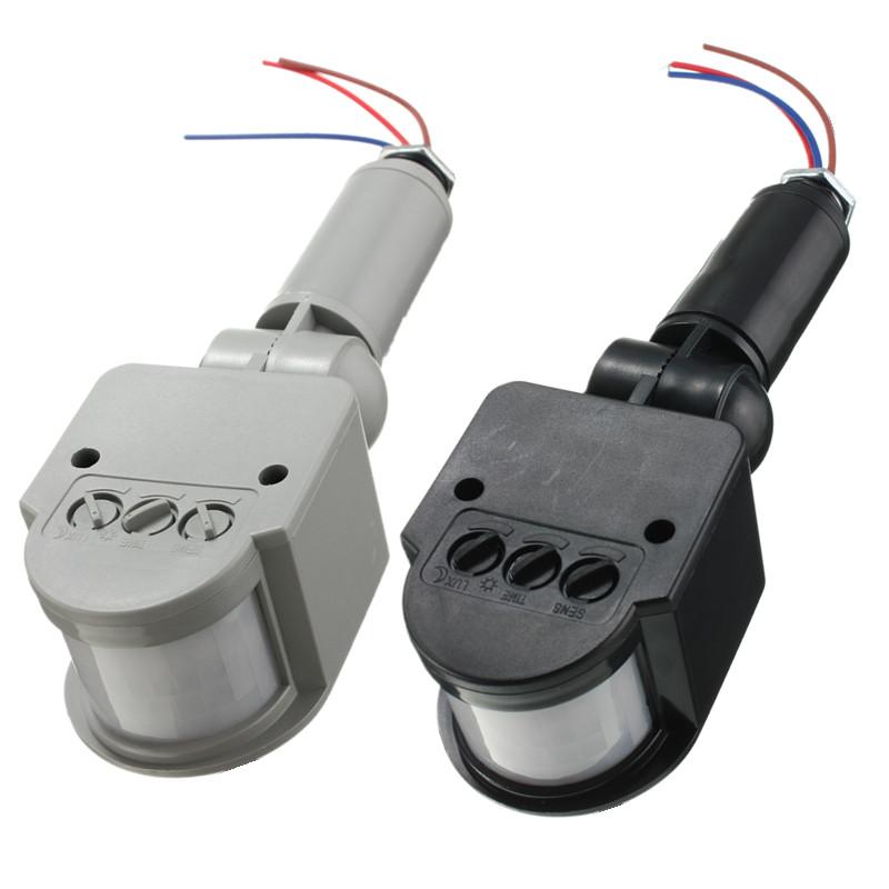 1 x Motion Sensor  sc 1 st  AliExpress.com & MJJC Hot Sale Outdoor Motion Sensor Wall Light Lamp LED PIR Infrared ...