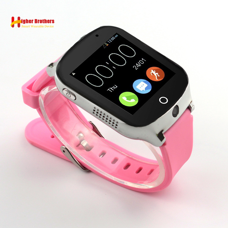 1.54 Touch Screen Smart Safe 3G WCDMA Remote Camera GPS LBS WIFI Location Tracker SOS Monitor Child Elder Kids Watch Wristwatch smart remote camera gps lbs wifi location 1 54 touch screen kid elder child 3g sos call monitor tracker alarm watch wristwatch