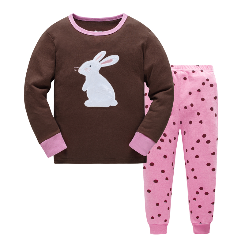 Children-Pajamas-Set-Cartoon-kids-Boys-Sleepwear-fashion-Girls-pyjamas-Set-2-7Y-Cute-Childrens-Home-pajamas-kids-Clothing-Set-2