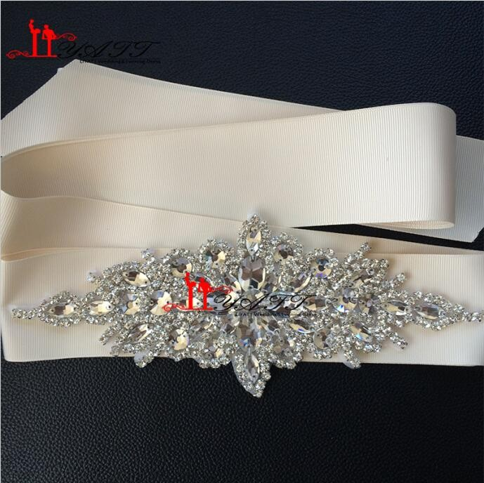 New-Promotion-Crystals-Robbin-Sash-for-Bride-Artificial-Wedding-Belt-for-Weddings-Real-Images (4)