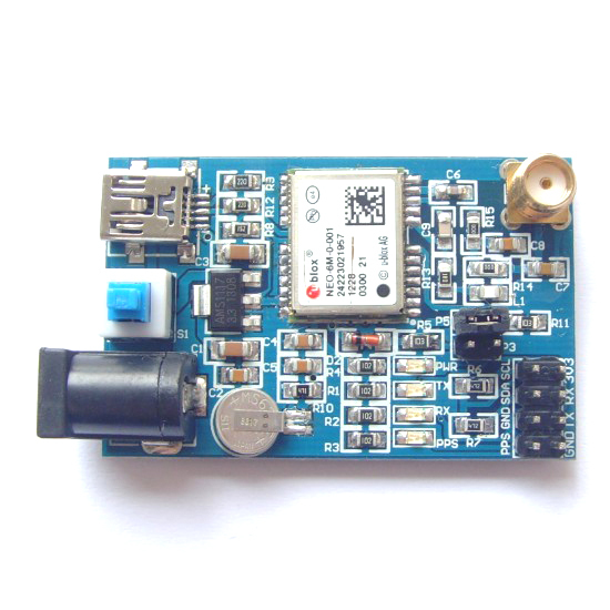 US $43 0 |Special (LC) UBLOX NEO 6 m 0 001 GPS module development board the  supplementary data Brazil-in Integrated Circuits from Electronic