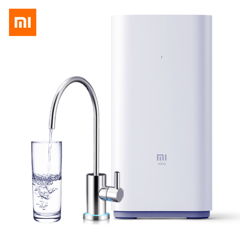 XIAOMI Electric Water Purifier Kitchen Tap Kitchen Water Purifying Machine Reverse Osmosis Filtration Pure Water Direct Drinking цена