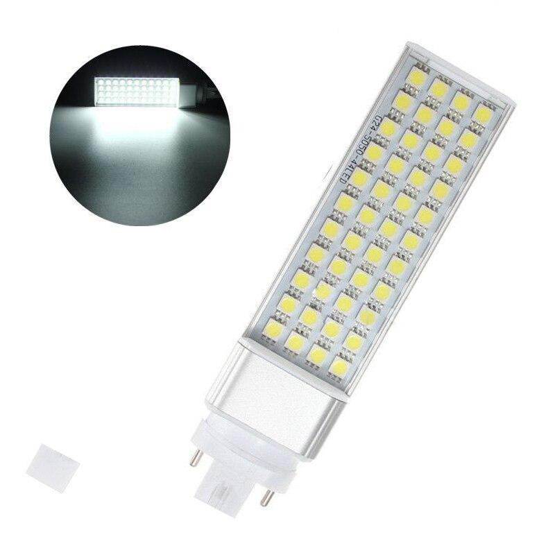 5050 bombillas LED 5W 7W 9W 11W 12W 14W E27 G24 G23LED mazorca luz SMD foco 180 grados AC85-265V Luz de enchufe horizontal Lámpara de tubo LED T5 4W 8W 12W 14W 16W 220V tubo fluorescente de plástico PVC 6W 10W 30/60cm lámpara de pared LED blanca cálida fría