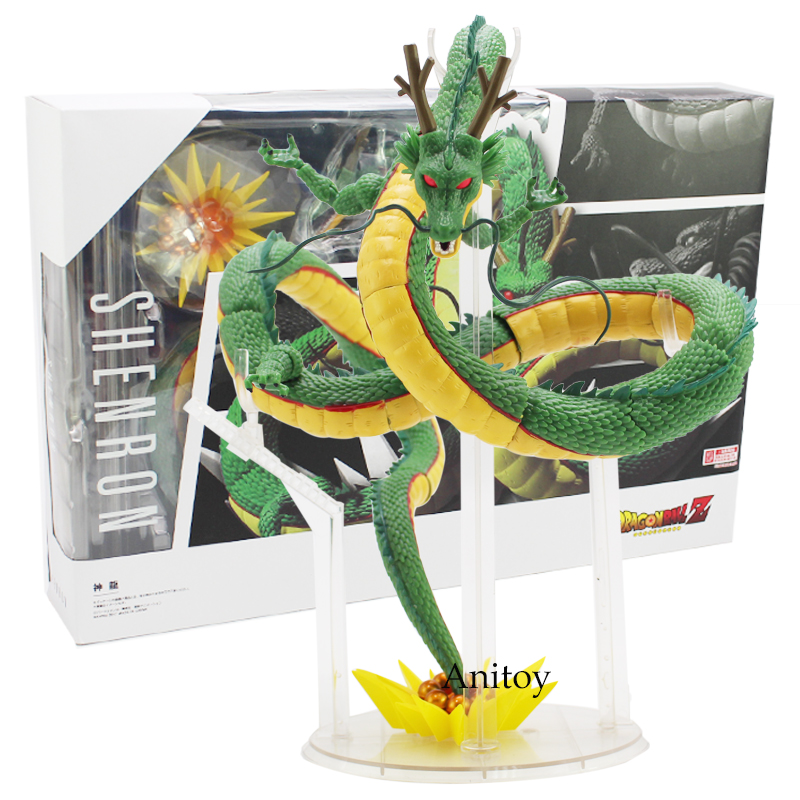 SHFiguarts Dragon Ball Z Shenron PVC Action Figure Collectible Model Toy 28cm anime dragon ball super saiyan 3 son gokou pvc action figure collectible model toy 18cm kt2841