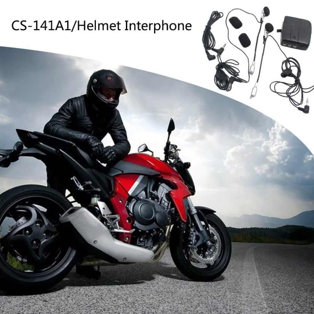 MP3 موتور سماعة خوذة تعديل دراجة نارية خوذة إنترفون سماعات اكسسوارات 3.5 مللي متر قطر التوصيل