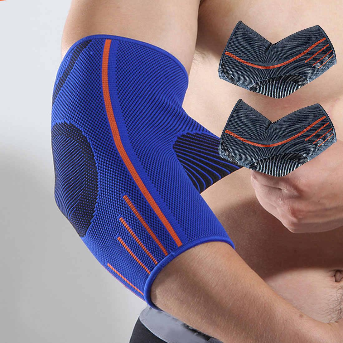 Nouveau 1 pièces respirant manchon de Compression coude orthèse de soutien protecteur pour haltérophilie arthrite volley-ball Tennis bras orthèse