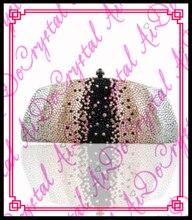 aidocrystal sexy lady fabrik mode abendtasche party taschen farbverlauf kristall geldbörsen und handtaschen