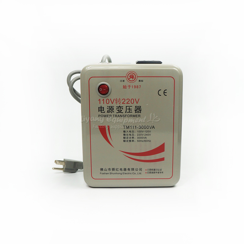 3000W Power Inverter Transformer 110V to 220V (220V to 110V for optional), voltage converter