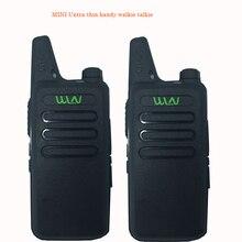 2 pièces Radio bidirectionnelle pratique Kd C1 Portable talkie walkie longue portée émetteur récepteur Radio Portable HF WLN pour radiocommunicateur de jambon