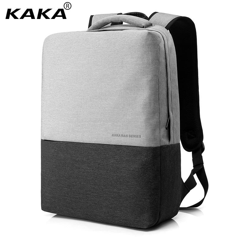 New Korean Style KAKA Brand Unisex Men 15.6 Laptop School Backpacks Business Backpack Women Fashion School Bags Ipad CompartmentNew Korean Style KAKA Brand Unisex Men 15.6 Laptop School Backpacks Business Backpack Women Fashion School Bags Ipad Compartment