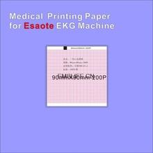 Medizinische recordering thermopapier 90mm * 90mm-200 P für USA ZOLL & Esaote ekg maschine