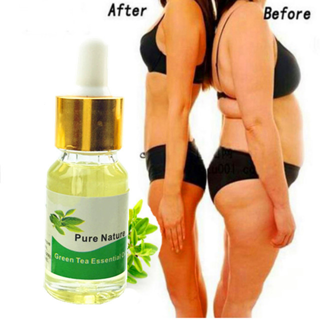 5/10/15ml Green Tea essential oil burn fat appetite control Pure Essential oil for Weight Loss Slimming Diet Detox Essential Oil