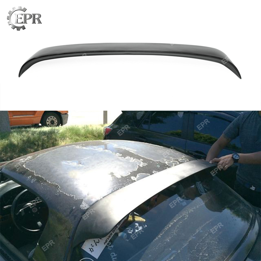 For Mazda MX5 NA FRP Glass Fiber Roof Spoiler (Fits Hard Top) Body Kit Tuning Part Trim For NA MX5 Fiberglass Roof WingFor Mazda MX5 NA FRP Glass Fiber Roof Spoiler (Fits Hard Top) Body Kit Tuning Part Trim For NA MX5 Fiberglass Roof Wing