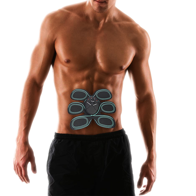 Electric Muscle Stimulator EMS Abdominal Muscle Exerciser Training Device Body Abdominal Muscles Fitness Accessories 30