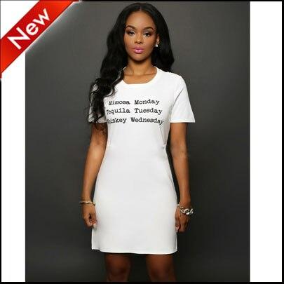 Blanco vestidos mujer