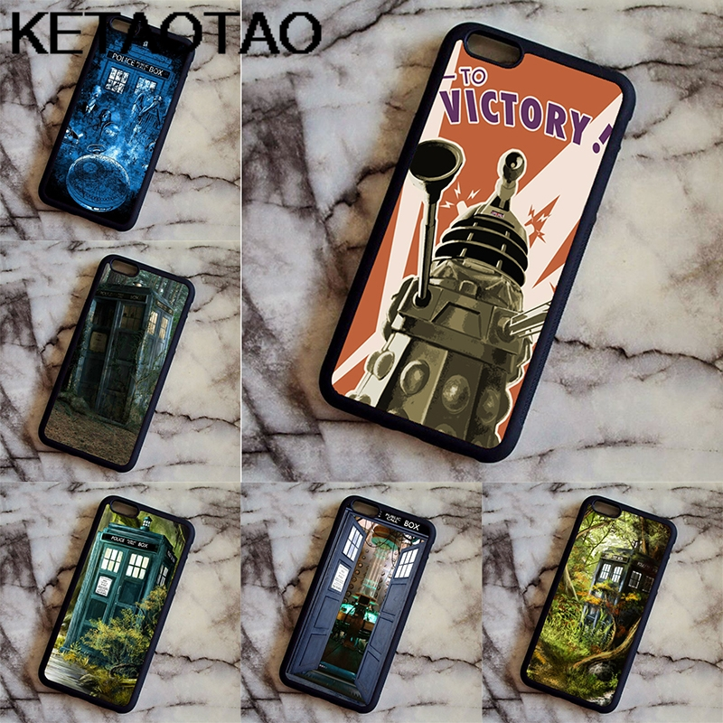 Cellphones & Telecommunications Iretmis 5 5s Se 6 6s Soft Tpu Silicone Rubber Phone Case Cover For Iphone 7 8 Plus X Xs Max Xr Doctor Who Tardis Splash