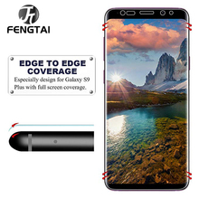 Full Cover HD Protective Film For Samsung Galaxy Note 8 9 10 S9 Screen Protector For Samsung S10 5g S8 S7 S6 Edge Plus Not Glass все цены