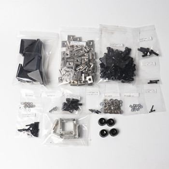 Screws nuts kit for upgrading Prusa i3 mk2/mk3 Zaribo/Haribo 3d printer  DIY, ruber feet, blind L bracket