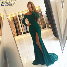 LAYOUT NICEB SHJ760 Mermaid Evening Dress 2019 Long Sleeve