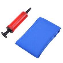 WHISM PVC Air Inflatable Cushion Anti Decubitus Wheelchair Seat Cushion Mattress with Pump for Home Car Office