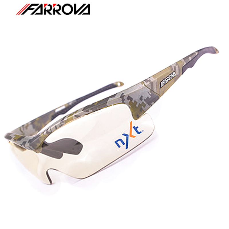 FARROVA Photochromatic Sunglasses Cycling Glasses Road Bike glasses Sports Goggles Moutain Bike Glasses Mtb Cycling Sunglasses polisi brand new designed anti fog cycling glasses sports eyewear polarized glasses bicycle goggles bike sunglasses 5 lenses