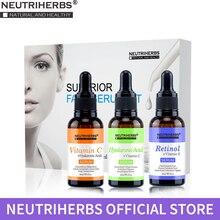 Neutriherbs Serum Kit Containing Vitamin C Serum, Hyaluronic Acid Serum, Retinol Serum, Whitening, Anti aging, Clogs Pore 3*30ml phyto c bionic serum
