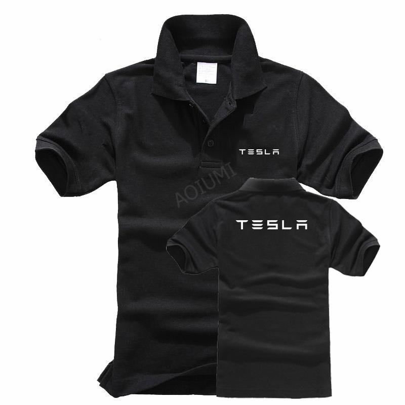 Tesla polo shirt