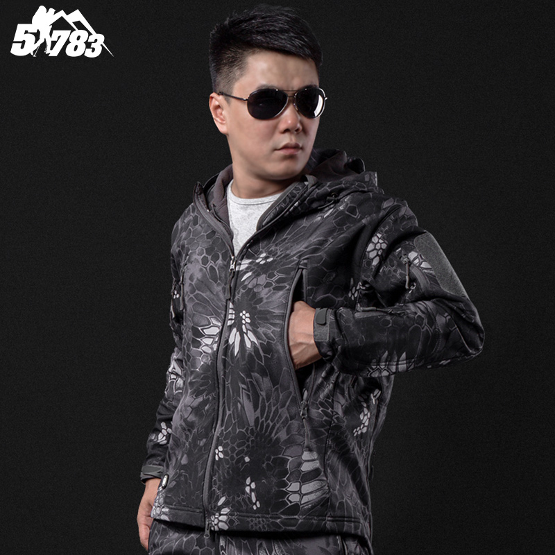 ФОТО Lurker Shark Skin Soft Shell TAD V4.0 Outdoor Military Tactical Jacket Waterproof Windproof Sport Hunt Camouflage Army Clothing