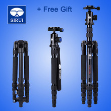 DHL Free Camera Tripod Monopod Combo 3in1 Kit For SLR Travel Sirui A1005+Y10 Professional+Ball Head+Quick Release Plate + Gift