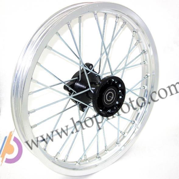 14 дюймов, 14 дюймов, 12 мм или 15 мм, ось, передний серебристый обод для велосипеда-грязи, Thumpstar, Assassin Atomik Pit Pro