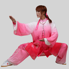 Customize Tai chi uniform clothing wushu suit taolu performance clothes Taiji sword outfit for men women boy girl kids children