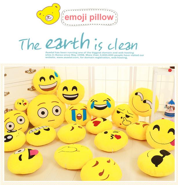 Cute High Quality Emoji Pillows
